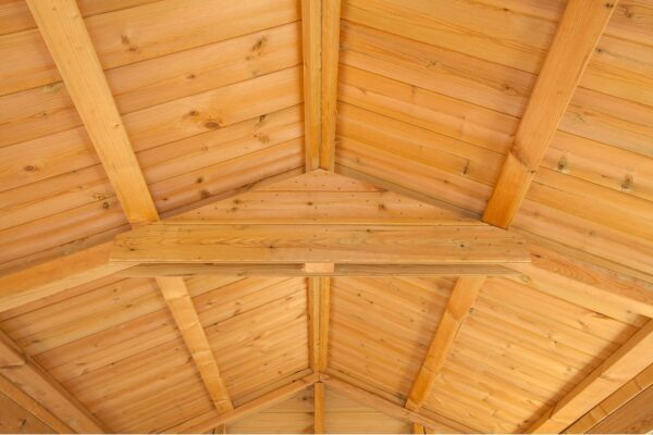 Apex shed roof truss