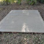 Concrete Base for 4ft X 4ft