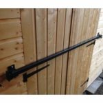 7ft Galvanised security door bar