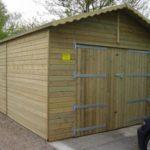 10ft (W) x 10ft (D) Single Garage