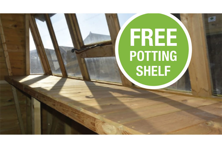 free potting shed shelf
