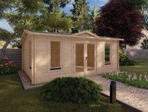 Clockhouse / Pavilion Log Cabins