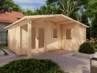 Maidstone log cabin