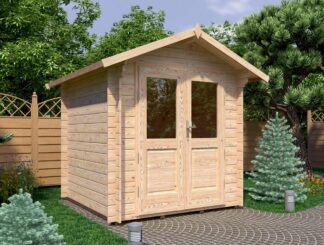 Newenden Log Cabin