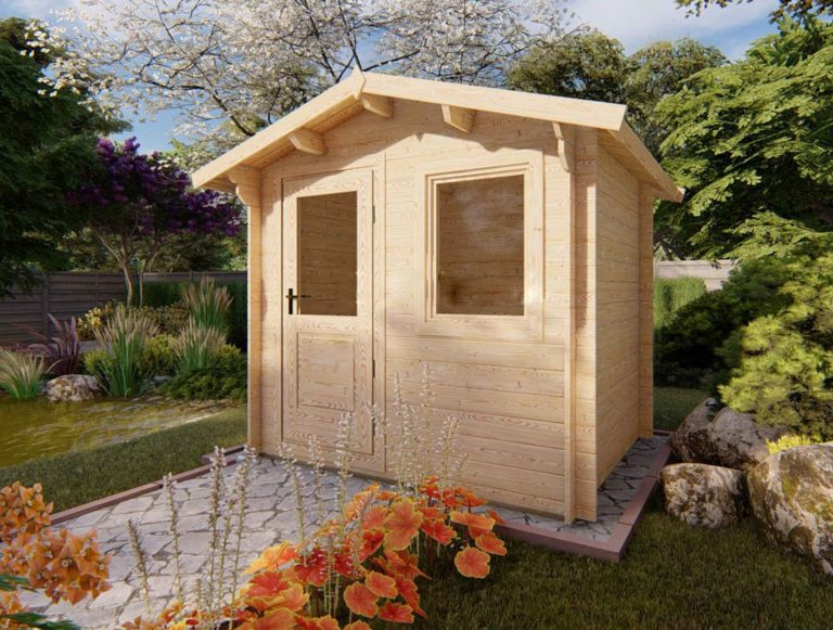 Olympian Bronze Log Cabin
