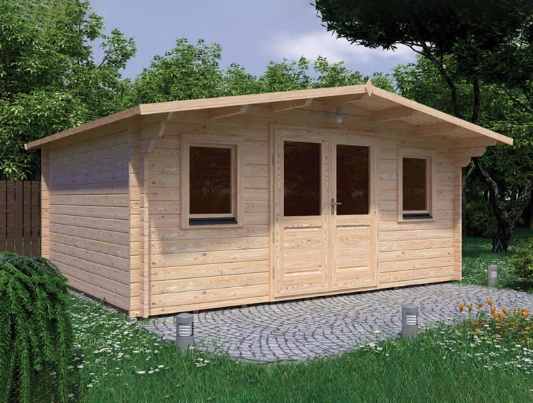 Olympian Gold Log Cabin