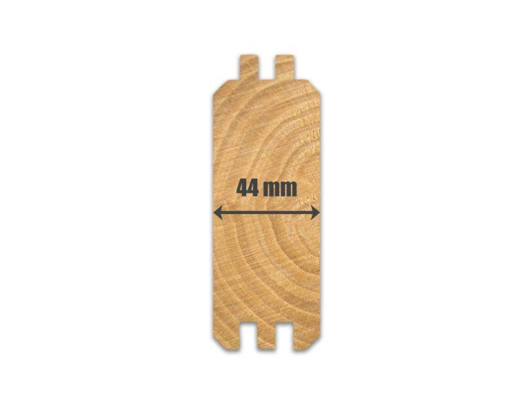 44mm Wall Logs