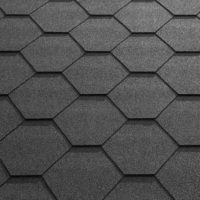 Black Felt Shingle Tiles