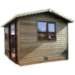 8ft (W) x 8ft (D) Traditional Garden Room