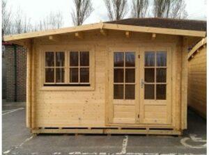 Twin Skin Log Cabins