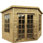 6ft (W) x 6ft (D) Corner Pent Summerhouse