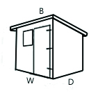 Configuration B (Pent Shed)