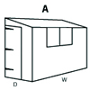 Configuration A (Reverse Pent Shed)