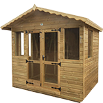 10ft (W) x 6ft (D) Traditional Summerhouse