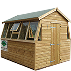 6ft (W) x 12ft (D) Double Potting Shed