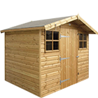 8ft (W) x 6ft (D) Shed Summerhouse