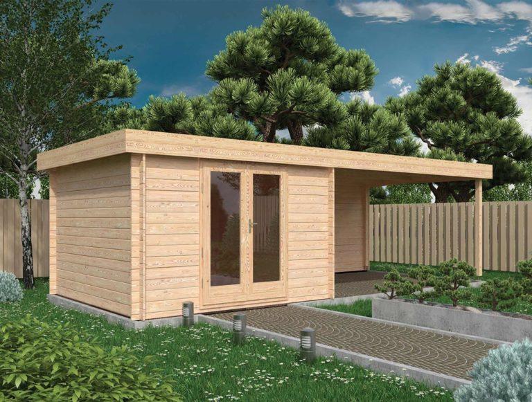 Camber Log Cabin