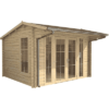 Contemporary Log Cabins Icon