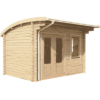 Curved Log Cabins icon