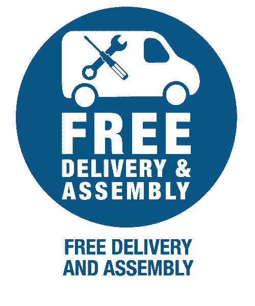 Free delivery and assembly icon