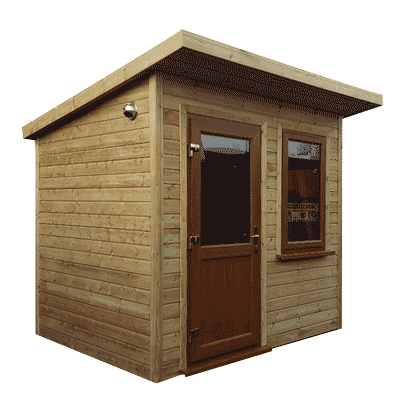 6ft (W) x 6ft (D) Snug Garden Room