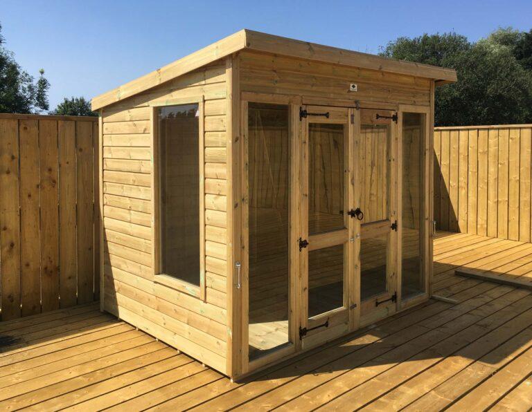 Pent Budget Summerhouse