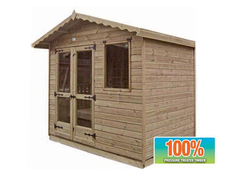 Budget Plain Summerhouses