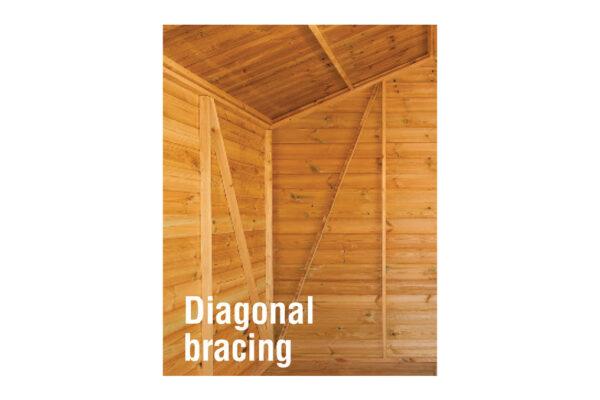 diagonal-bracing